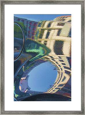 Abstract Reflection #2 Framed Print by Svetlana Rudakovskaya