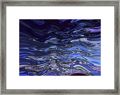 Abstract Reflections - Digital Art #2 Framed Print by Robyn King