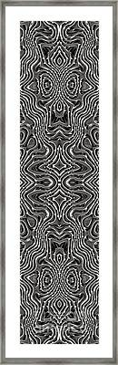 Abstract Rhythm - 21 Framed Print by Hanza Turgul