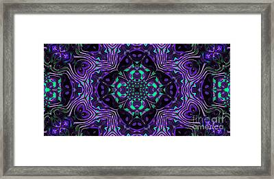 Abstract Rhythm - 26 Framed Print by Hanza Turgul