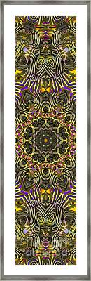 Abstract Rhythm - 27 Framed Print by Hanza Turgul