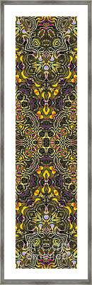 Abstract Rhythm - 29 Framed Print by Hanza Turgul