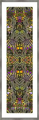 Abstract Rhythm - 32 Framed Print by Hanza Turgul