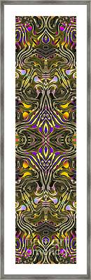 Abstract Rhythm - 33 Framed Print by Hanza Turgul