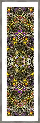 Abstract Rhythm - 34 Framed Print by Hanza Turgul