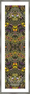 Abstract Rhythm - 37 Framed Print by Hanza Turgul