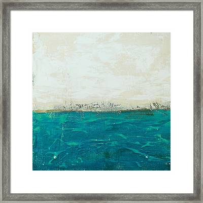 Abstract Seascape 02/14b Framed Print by Filippo B
