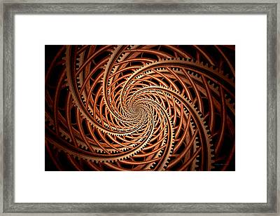 Abstract - Spiral - Mental Roller Coaster Framed Print by Mike Savad