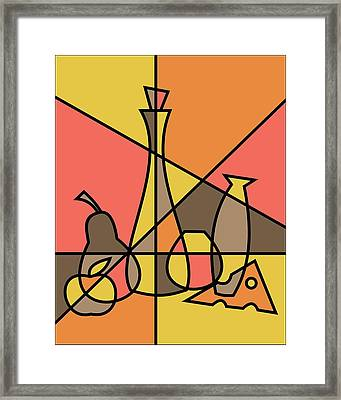 Abstract Still Life 2 Framed Print by Donna Mibus