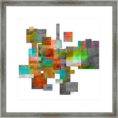 Abstract Study 23 Framed Print by Ann Powell