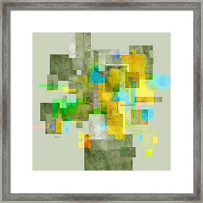 Abstract Study 27 Framed Print by Ann Powell