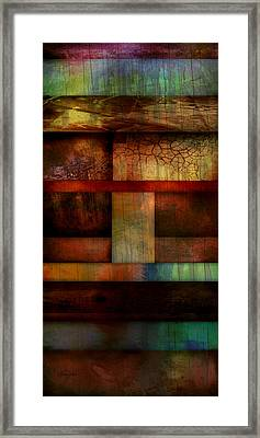 Abstract Study Five  Framed Print by Ann Powell