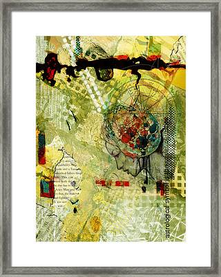 Abstract Tarot Art 009 Framed Print by Corporate Art Task Force