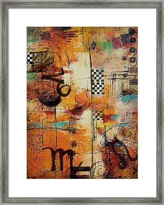 Abstract Tarot Art 010 Framed Print by Corporate Art Task Force