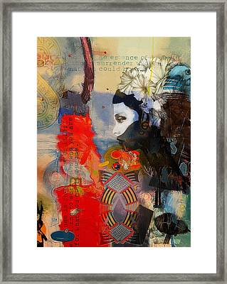 Abstract Tarot Art 011 Framed Print by Corporate Art Task Force