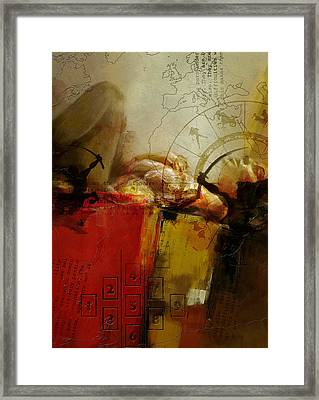 Abstract Tarot Art 014 Framed Print by Corporate Art Task Force