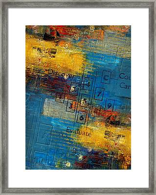 Abstract Tarot Art 016 Framed Print by Corporate Art Task Force