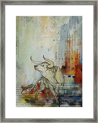 Abstract Tarot Art 017 Framed Print by Corporate Art Task Force