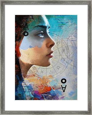 Abstract Tarot Art 019 Framed Print by Corporate Art Task Force
