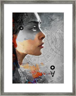 Abstract Tarot Art 019b Framed Print by Corporate Art Task Force
