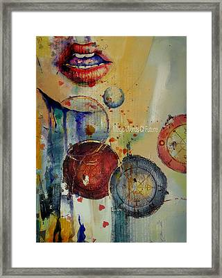 Abstract Tarot Art 021 Framed Print by Corporate Art Task Force