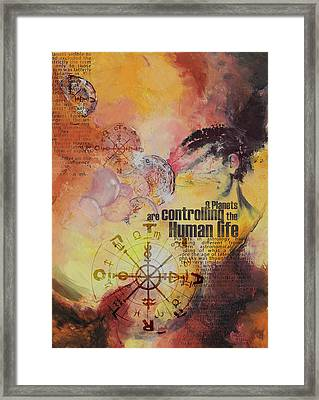 Abstract Tarot Art 023 Framed Print by Corporate Art Task Force