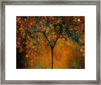 Abstract Tree Art Framed Print by Dan Sproul