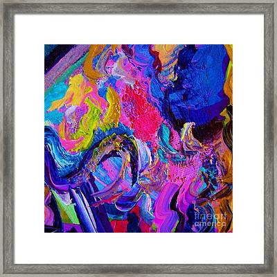 Abstract Viscosity Framed Print by Eloise Schneider