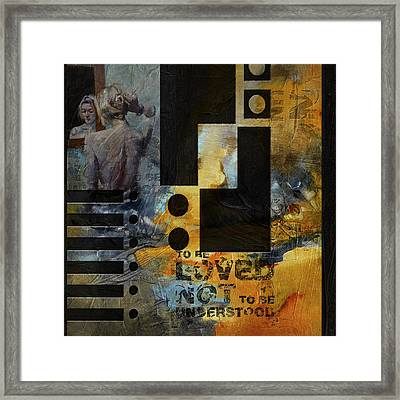 Abstract Women 006 Framed Print by Corporate Art Task Force