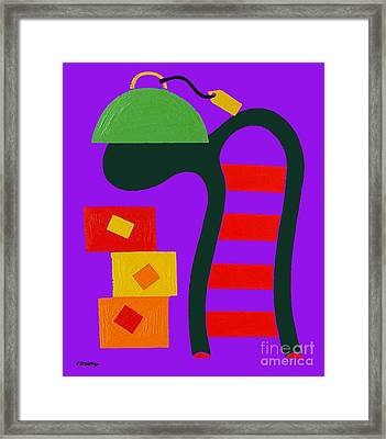 Abstraction 230 Framed Print by Patrick J Murphy