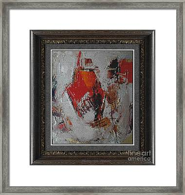 Abstraction Abstr2 Framed Print by Pemaro