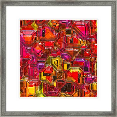 Abstractions... Framed Print by Tim Fillingim