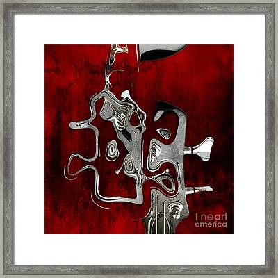 Abstrait En Fa Majeur - S02t02 Framed Print by Variance Collections