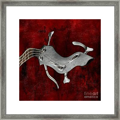 Abstrait En La Mineur - S02bt03 Framed Print by Variance Collections