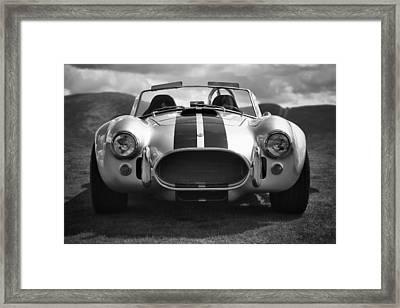 Ac Cobra 427 Framed Print by Sebastian Musial