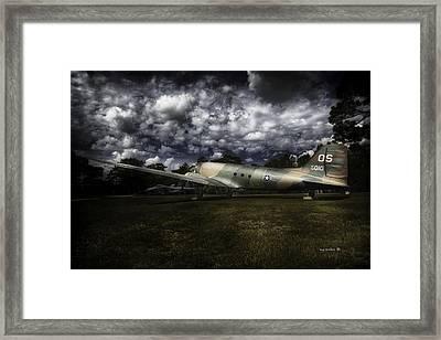 ac47dSpooky aka Puff Framed Print by Michael Rankin