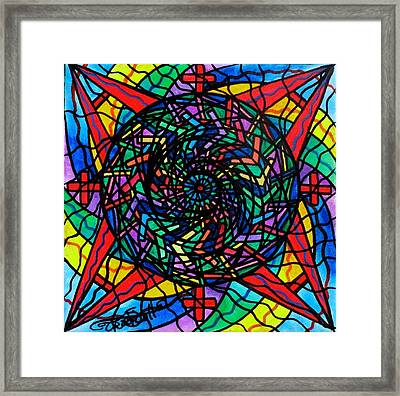 Academic Fullfillment Framed Print by Teal Eye  Print Store