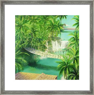 Acapulco Framed Print by Andrew Hewkin