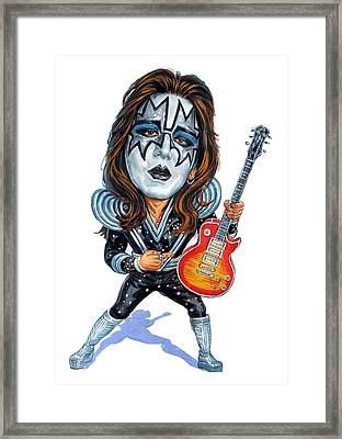 Ace Frehley Framed Print by Art