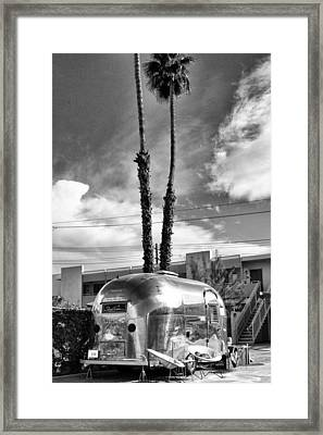 Ace Trailer Palm Springs Framed Print by William Dey