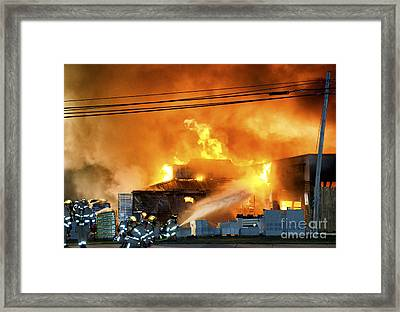 Ace Was The Place Framed Print by Richard Mason