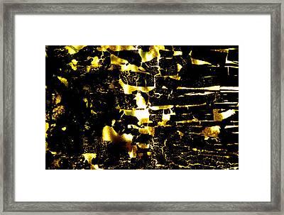 Na 38 Everyone's Happy Underground Framed Print by Kika Pierides