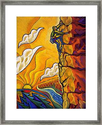 Achievement Framed Print by Leon Zernitsky