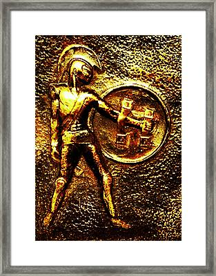 Achilles Framed Print by Hartmut Jager