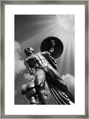 Achilles Framed Print by Mark Rogan
