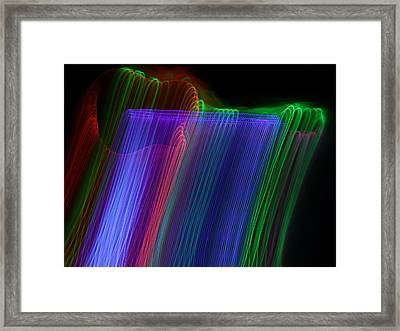 Acoustic 2 Framed Print by Patrick Daniel Trombly