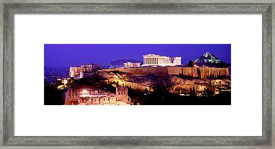 Acropolis, Athens, Greece Framed Print by Panoramic Images