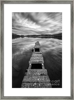 Across Framed Print by John Farnan