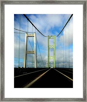 Across The Narrows Framed Print by Benjamin Yeager