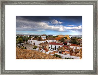 Across The Rooftops Framed Print by English Landscapes